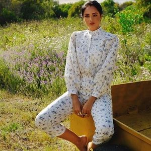 Zara Other - ZARA FLORAL PRINT 2 PIECE CO-ORD SET